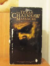 VHS Movie - The Texas Chainsaw Massacre in Cherry Point, North Carolina