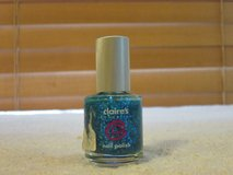 Claire's Cosmetics Sapphire Sparkle Nail Polish in Cherry Point, North Carolina