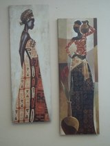 African Wall Art (2 pieces) in Norfolk, Virginia