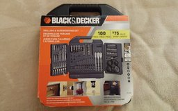 Black & Decker - Screwdriving and Drilling Set (Brand New) in Alamogordo, New Mexico