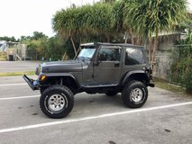 Jeep Wrangler Sahara TJ 1998 in Okinawa, Japan