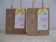 3 Easter Favor Bags Handmade 4.5 x 5.5 in. in Ramstein, Germany