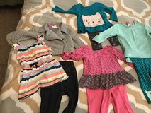 12 mo little girls clothing lot in Houston, Texas