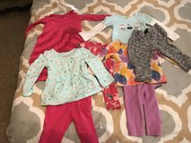 12 mo little girl clothing lot in Houston, Texas