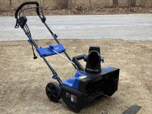 """Electric snow blower -21"""" -  used once REDUCED! in DeKalb, Illinois"""