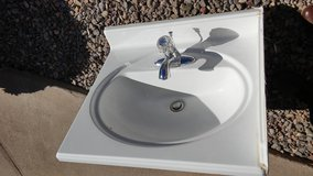 Cultured Marble Sink in Alamogordo, New Mexico