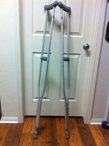 Crutches in Camp Pendleton, California