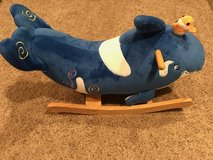 Toddler Whale Rocker in Naperville, Illinois