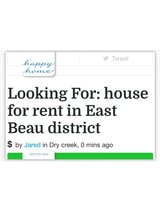 Looking For: house for rent in East Beau district in Lake Charles, Louisiana