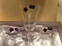 Bohemia crystal wine glasses with Swarovski Chrystal's in Hohenfels, Germany