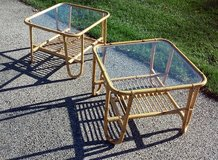 2 Bamboo Tables in St. Charles, Illinois