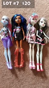 Monster High Dolls Lot #7 in Chicago, Illinois