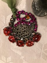 Authentic Hand Made Austrian Pendant with Authentic Swarovski Crystals in Wiesbaden, GE