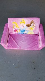 Disney Princess foldable sofa seat in Travis AFB, California