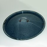 VTG GRAY GRANITEWARE POT LID, 13 inches ENAMELWARE in Naperville, Illinois