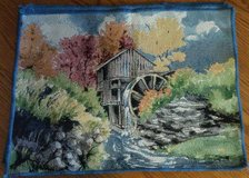 Tapestry placemats - new - set of 6 in Elgin, Illinois