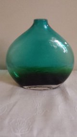 Vase - natural currents - greenish blue in Elgin, Illinois