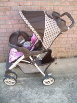 GRACO PINK & BROWN STROLLER--STILL AVAILABLE in Perry, Georgia