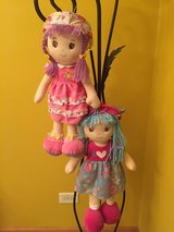 Stuffed dolls for Easter in Morris, Illinois