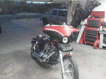 06 harley davidson motorcycle Dyna Wide Glide in 29 Palms, California