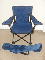 KIDS BLUE FOLDING CHAIR WITH BAG in Camp Lejeune, North Carolina