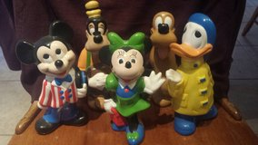 5 Ceramic Disney Characters in Conroe, Texas