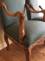 Pair of French country carved armchairs in bookoo, US