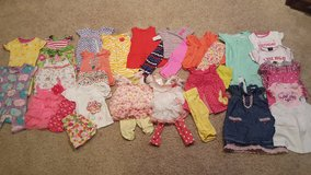 Baby girl 12 month lot of spring/summer clothes in Bartlett, Illinois