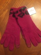 New Coach Pink & Ocelot Tech Gloves in Naperville, Illinois