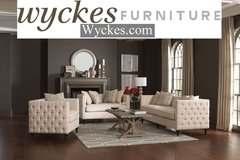 Sophisticated Tufted Sofa & Loveseat Set in San Diego, California