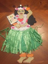 New Aloha Hula Girl Garden Flag in Naperville, Illinois