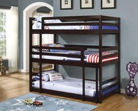 NEW TRIPLE BUNK BED ONLY $399 in Riverside, California