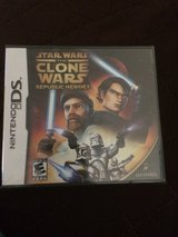 New DS Game Star Wars the Clone Wars Republic Heroes in Okinawa, Japan
