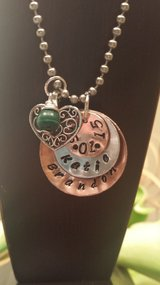 Personalized necklace in Okinawa, Japan