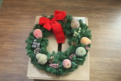Christmas fruit wreath - 2 to choose from in Alamogordo, New Mexico