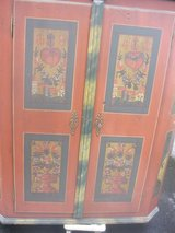 Antique cabinet with hand painting. Its 170 years old. in Bamberg, Germany