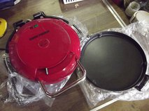 NEW GEORGE FOREMAN GRILL WITH CHANGEABLE GRILL in Fort Riley, Kansas
