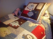 Pottery Barn twin quilt/sham, aliens and space in Chicago, Illinois