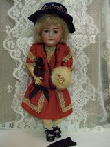 Antique Heinrich Handwerck Bisque and Composite Doll with Accessories in Warner Robins, Georgia