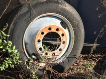 Tractor Trailer Tire and Rim in Macon, Georgia