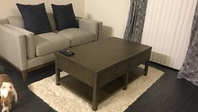 Coffee table with four drawers in Nellis AFB, Nevada