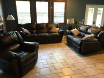 Electric fully functional bonded leather couches in Oceanside, California