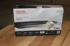 Toshiba BDK33 Blueray Disk/ SVD Player - New in original unopened box in CyFair, Texas