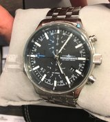 Thunderbirds Pilots Watch! Wingchrono Chronograph with Alarm in Ramstein, Germany