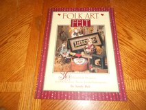 FOLK ART FELT BOOK NEW in Fort Riley, Kansas