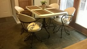 Antique table and chairs for patio or kitchen in Glendale Heights, Illinois