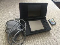 Nintendo DS Lite System with AC Adapter and 1 game in Beaufort, South Carolina