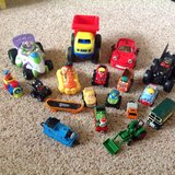 Lot of toy vehicles (cars, trains, etc.) in Fairfield, California