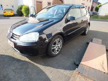 VW Golf 2.0 MK 5 black great condition year 2006 in Spangdahlem, Germany