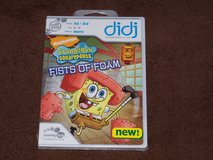 Leap Frog didj Spongebob Squarepants: Fists of Foam Game NEW! in Camp Lejeune, North Carolina